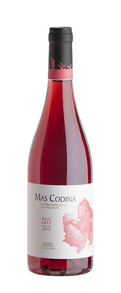 Mas Codina, vi rosat ecològic DO penedès